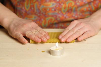 Как сделать тонкие свечи своими руками в домашних условиях