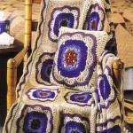 Вязание крючком и на спицах. Великолепные узоры для вязания пледов.