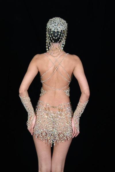 узоры на платье из бисера - Сайт о бисере.