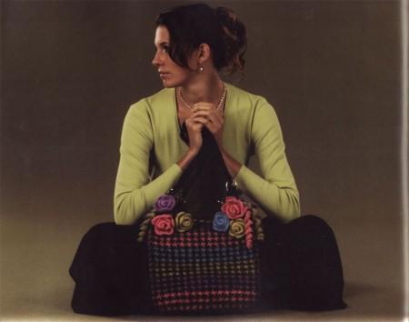 Как сделать сумку? Легко! Валяние из шерсти. Примеры работ.