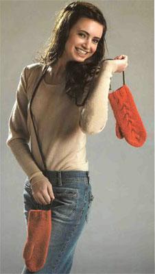 портал. вязание из меха своими руками
