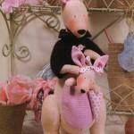 Игрушки Тильды. Выкройки для пошива кенгуру, овечек, свинок.