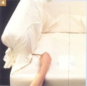 Как сшить красивые и удобные чехлы на мебель. Чехлы на мягкие диваны и кресла. Часть 1. Изготовление выкройки.
