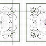 Схемы для вышивки с примерами работ.  Бискорню.