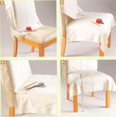 ...как сшить чехлы на стулья своими руками - Выкройки детских рукавичек.