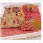 Милые сумочки и косметички в лоскутной технике. Тильды - сумки.