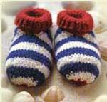 вязание малышу – пинетки, носочки, ботиночки
