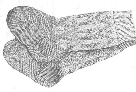 """На нашем женском сайте  """"Дамочка """" Вы постоянно можете найти публикацию - вязание носки с орнаментом, с фотографиями..."""