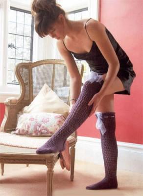 Яркие идеи для вязания носков, гольфов, подследников