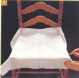 Чехлы на стулья Как сшить чехлы своими руками 73