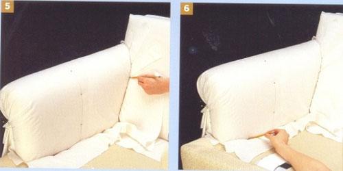 Чехлы на диван выкройки своими руками