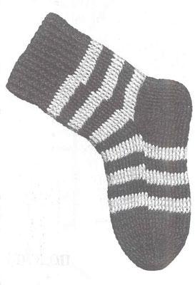 Всё, что нужно знать о вязании носков. Пошаговая инструкция для вязания носка крючком. Вязание от мыска.