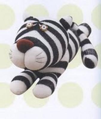 Фото - урок по изготовлению самой оригинальной игрушки на свете. Тигр из носка.