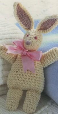Вязанные игрушки. Кролик Ричард. Схема вязания.