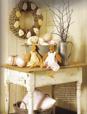 Схемы для шитьяПасхальных игрушек - Тильды: яйца, курицы, гуси и утки.