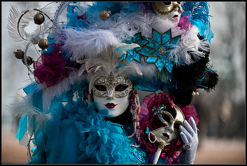 Новогодние маски карнавальные своими руками