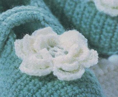 Розочка Вязание крючком