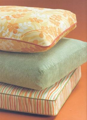 Как сшить красивые и удобные чехлы на мебель. Пошив чехла на подушку - «коробку».