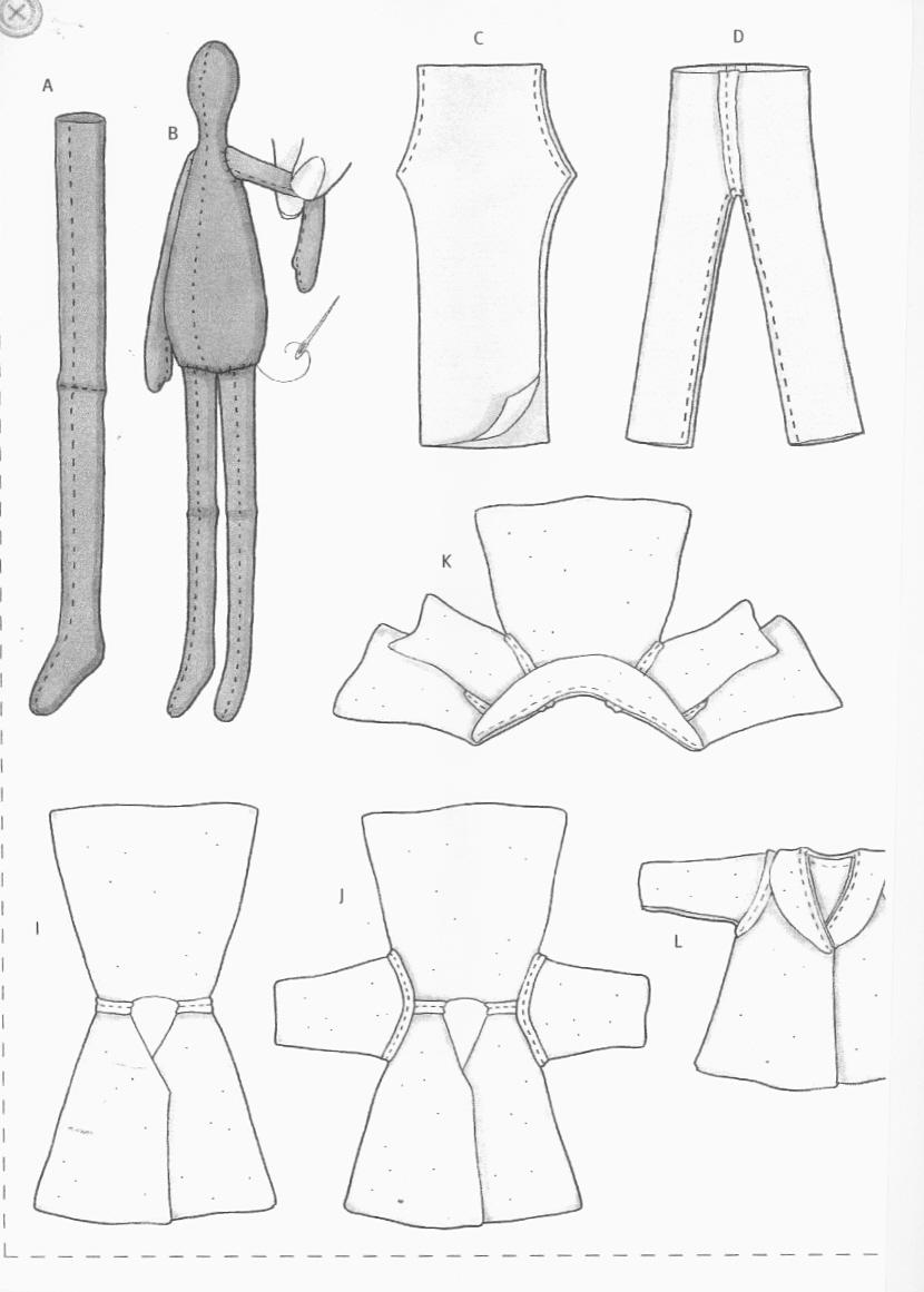 куклы тильды выкройки страница 9.