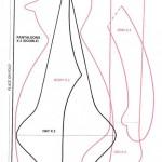 Выкройка Тильды Детали туловища, ручек, ножек и одежды (519x700, 211Kb) .