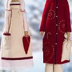 Игрушки Тильды к Новому году: Санта-Клаус, снегурочка, ангел, снеговик и другие.