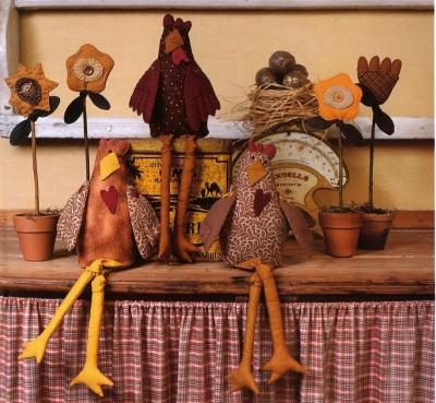 Выкройки. Тильда -медведи, Тильда - зайцы, овощи, курица и девочка с сердцем.