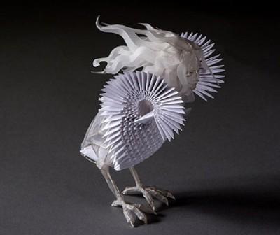 Невероятное оригами. Примеры работ. Животные и птицы.