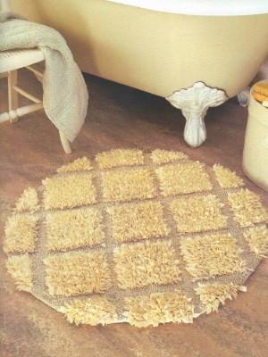 Делаем самостоятельно коврики из лоскутов. Как сделать элегантный коврик в гостинную или ванную.