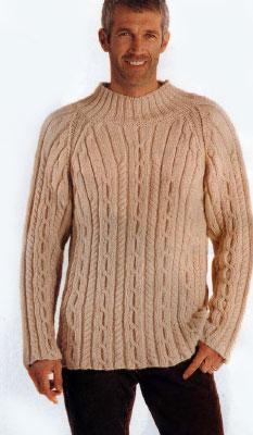 вязание спицами мужских свитеров 46-48 размера, схемы. схемы вязания.