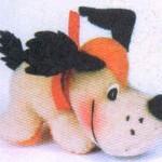 Для изготовления мягкой игрушки щенка своими руками есть чертеж,рисунок,эскиз,схемы выкроек и последовательность...