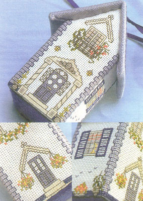 Схема вышивки.