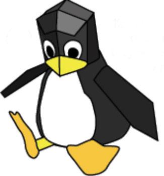 Маленькая идея для творческого человека. Упаковка - пингвин.