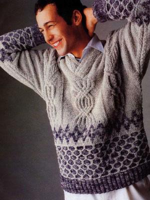 Схемы вязания свитера с