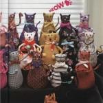 Выкройки мягких - игрушек котов всех мастей и размеров.