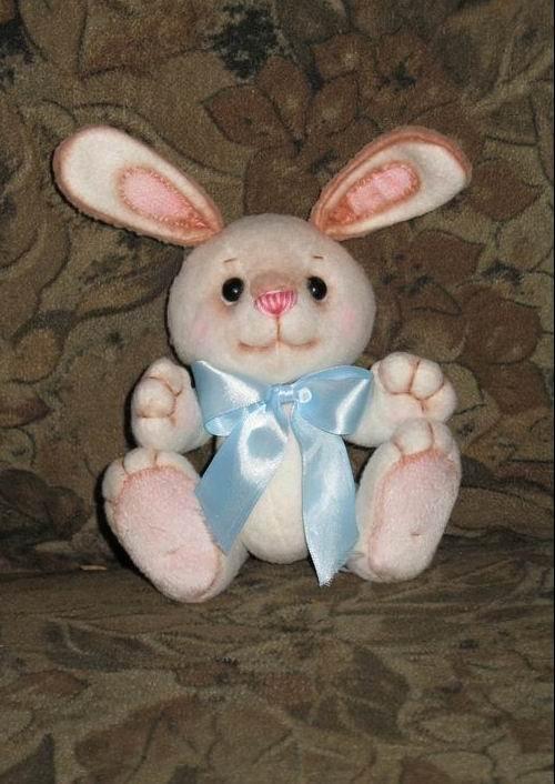 Выкройки мягких игрушек: зайца