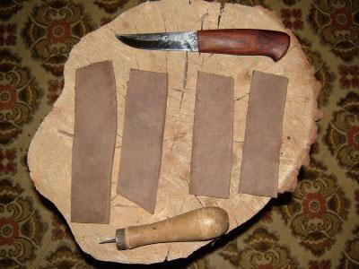 Новая жизнь старых вещей из кожи, драпа и замши. Подготовка материала и инструменты.