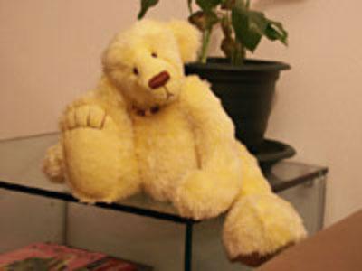 Инструкция по пошиву медведя из меха. Выкройки.