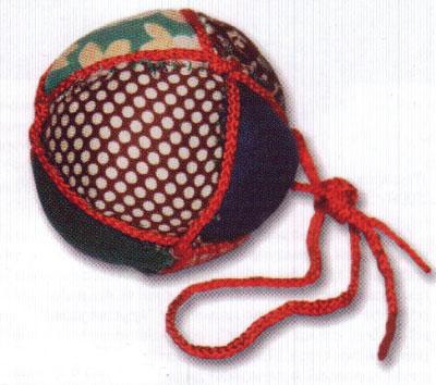 Древние традиции изготовления мячиков на Руси.  Выкройка для шитья...