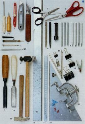 Плетение из кожи. Какие нужны инструменты. Какой материал использовать.