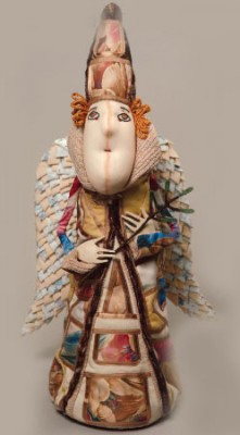 Мастер класс по изготовлению текстильной куклы - ангела. Секреты пошива чудесной куклы.