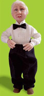 Подробная иснтрукция по изготовлению коллекционной куклы. Советы по лепке, росписи и креплению головы, рук и ног куклы.