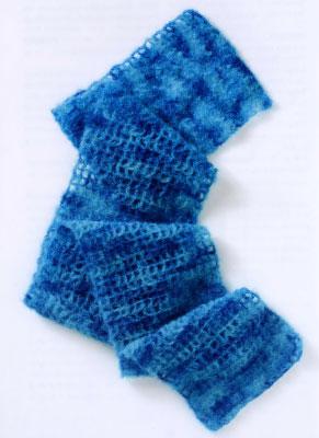 """Способы вязания шарфа.  Шарфы  """" Схемы вязания."""