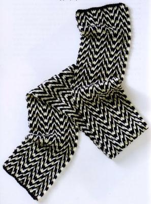 Идеи для вязание мужских шарфов