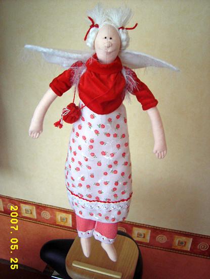 Ангел из фетра своими руками с выкройками
