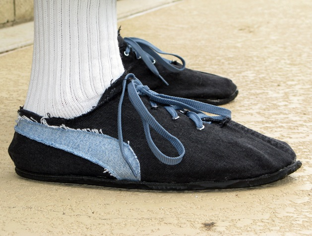 Обувь из ткани своими руками
