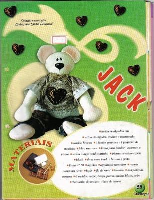 Ещё немного бесплатных выкроек для шитья медведей.