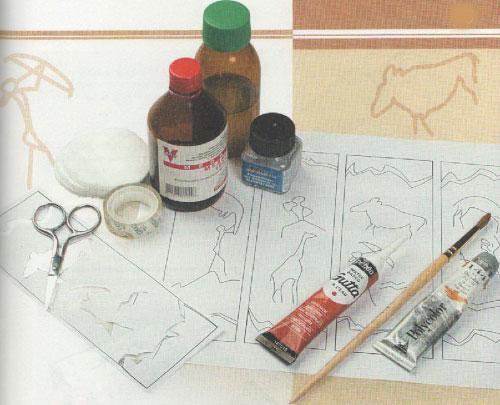 Роспись стекла: идеи,эскизы, шаблоны 26840