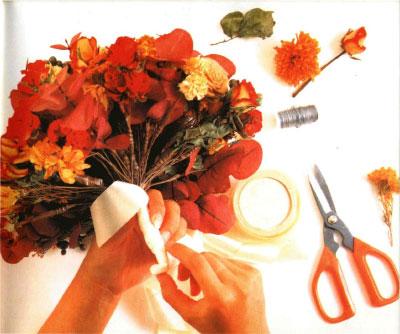 Основные принципы создания композиций из сухоцветов.