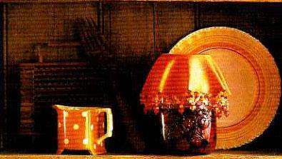 Как украсить дом к празднику с помощью поделок из бисера и бусин.