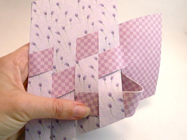 Корзинка из цветной бумаги своими руками как сделать корзинку из бумаги